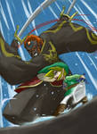 WW - Link VS Ganondorf - final