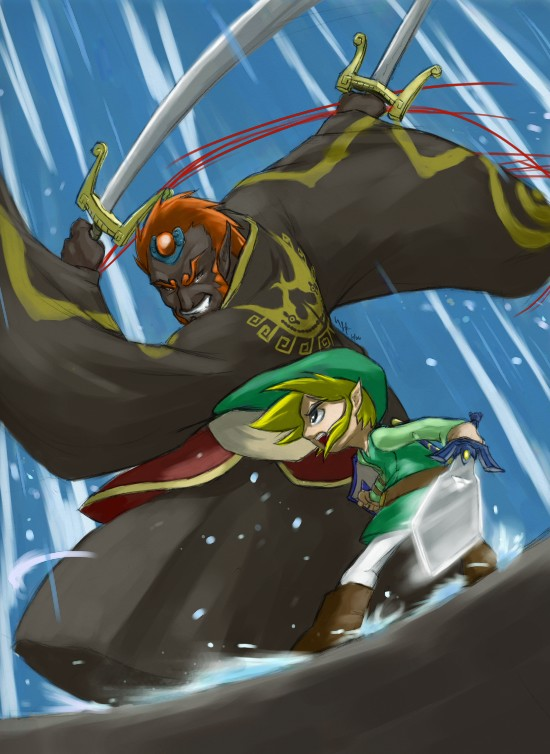 WW - Link VS Ganondorf - final