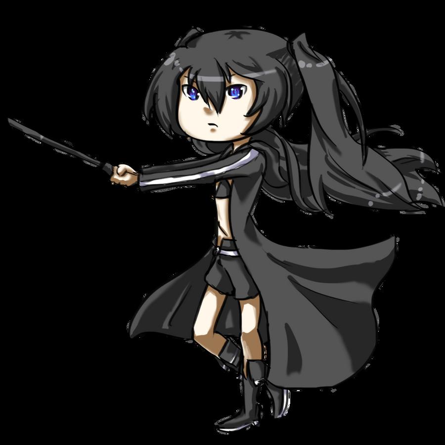 Black Rock Shooter chibi