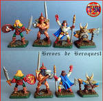 Heroes de Hero Quest by LuisRodriguezBruno