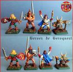 Heroes de Hero Quest by LuisRodriguezBruno