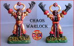 Chaos Warlock by LuisRodriguezBruno
