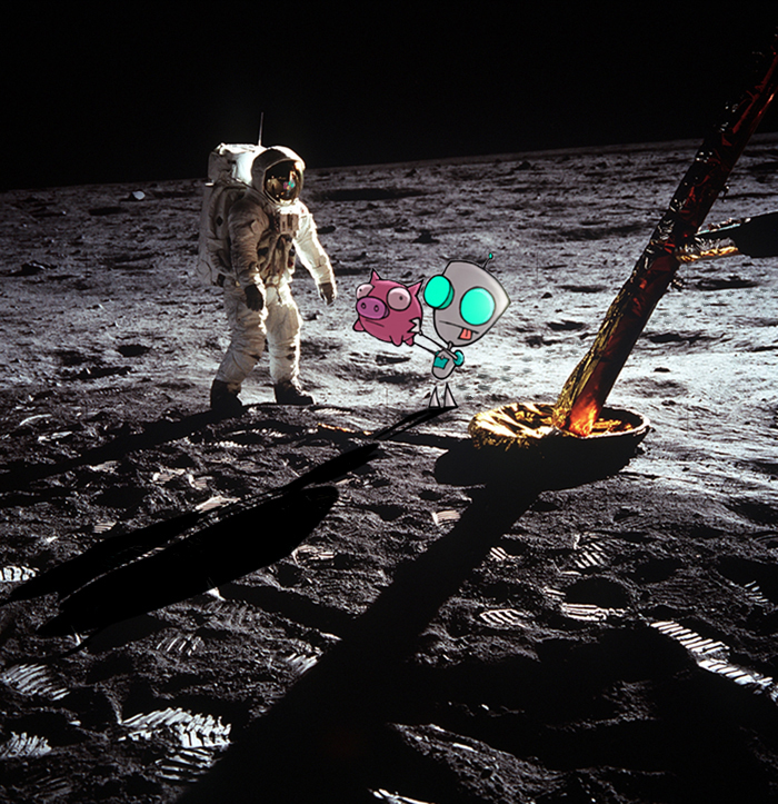 the moon landing - HD 1163×1200