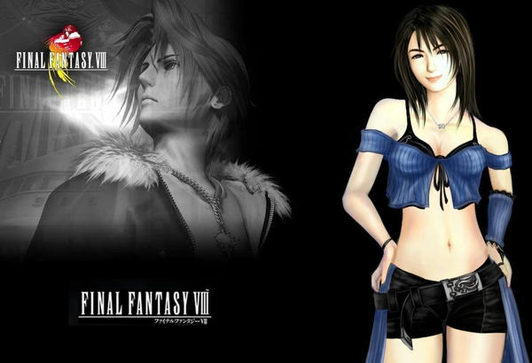 Squall And Rinoa Wallpaper Squall And Rinoa by Mosou