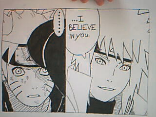 Aww worthy moment in Naruto by CarlaChanxD