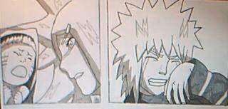 Minato cries of happiness by CarlaChanxD