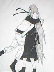 Naruto and Kushina Uzamaki by CarlaChanxD
