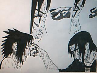 Did you say Itachi death scene? I thought so... by CarlaChanxD
