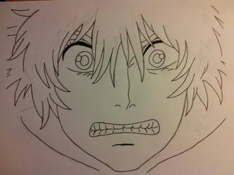 Stage one of Howl freaking out by CarlaChanxD