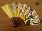 Stock: Cherry Blossom Fan