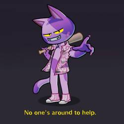 No one's arround to help