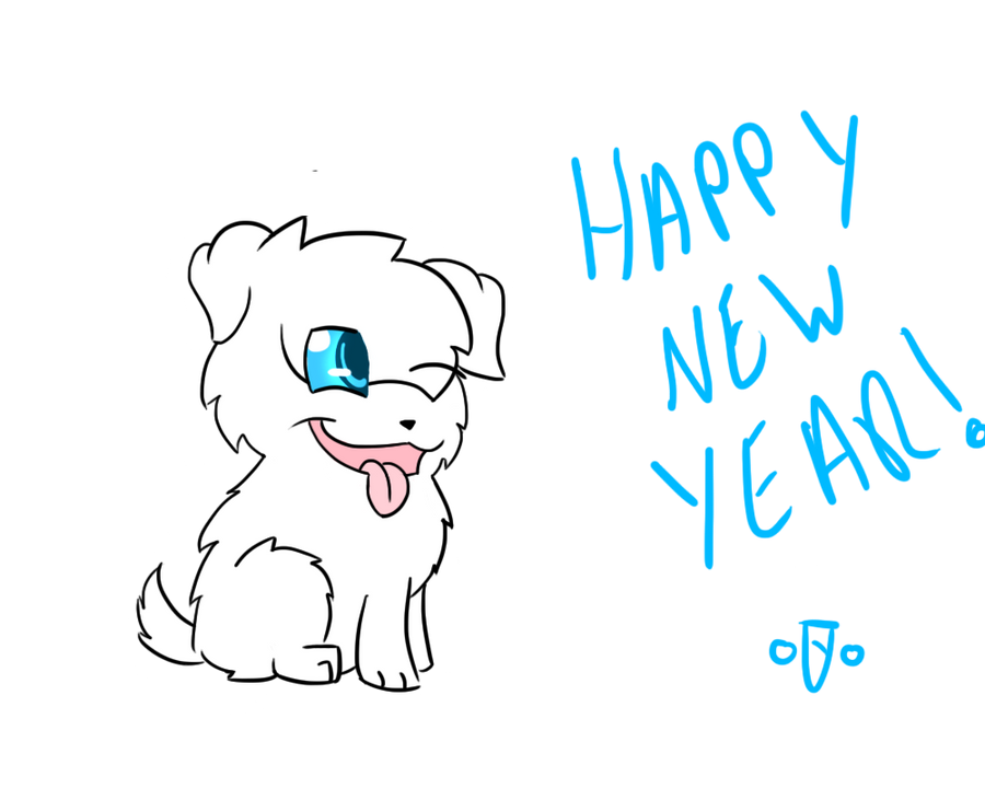 Happy new year! by Cartoon-Heart