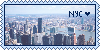 Nyc Stamp by Cartoon-Heart