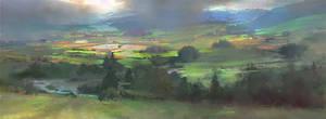 ''Green fields'' by Jakub Mojrzesz sample