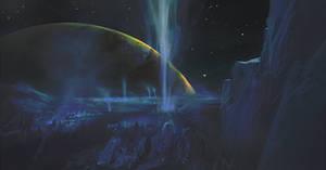 ''Europa the moon'' by Jakub Mojrzesz sample