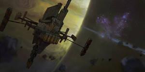 ''Saturn station'' by Jakub Mojrzesz sample