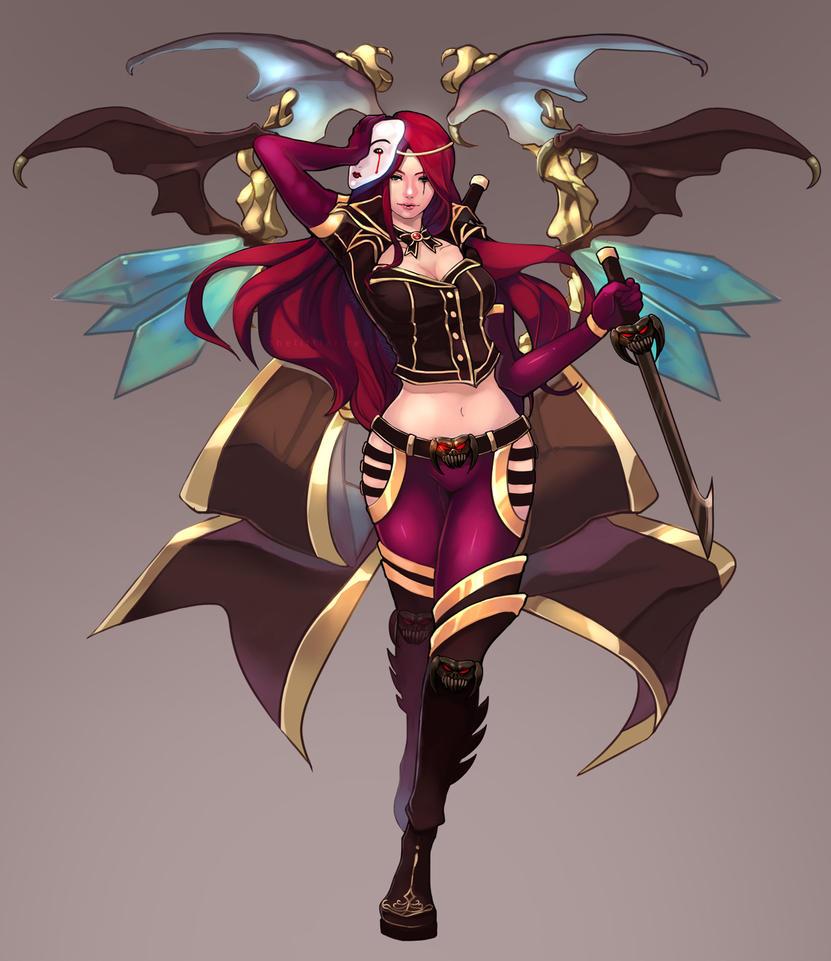 Katarina by thelittlefirefly