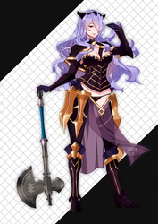 Fire Emblem Warriors: Camilla / Kamira by littlewinterheart