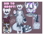 Wolf x snow leopard mix - Auction Adopt CLOSED