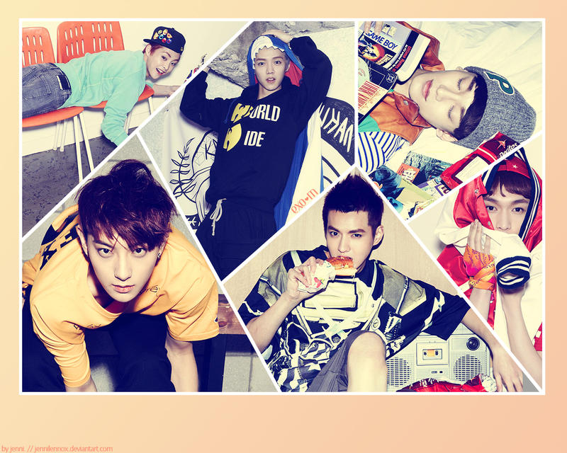 exom wallpaper by jennilennox on deviantart