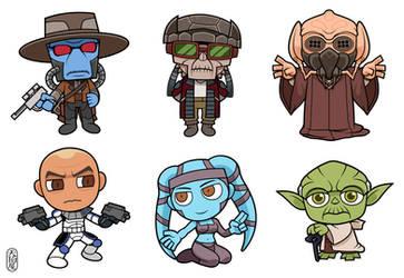 Star Wars:The Clone Wars by AMAKOMA-YA