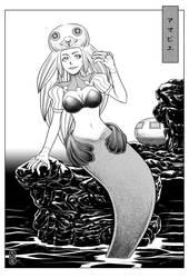 Youkai-Amabie 1 by AMAKOMA-YA