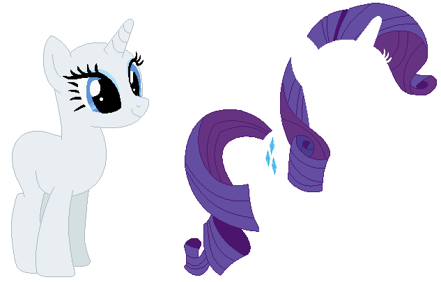 Rarity Base By PainterEde On DeviantArt