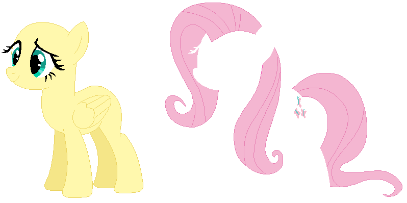 Fluttershy Base by PainterEde on DeviantArt