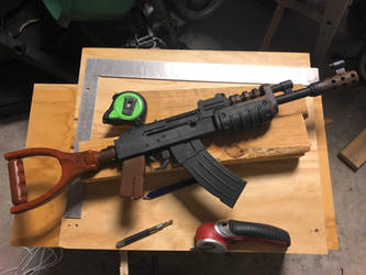 Rust Assault Rifle Build On Commission by Lasrig