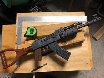 Rust Assault Rifle On Commission Update by Lasrig