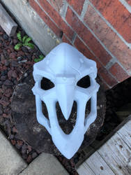 Just finished assembling the reaper mask by Lasrig