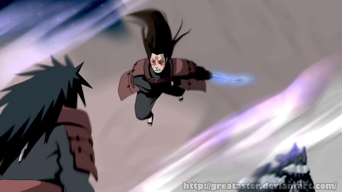Madara vs Hashirama by GreatAster on DeviantArt