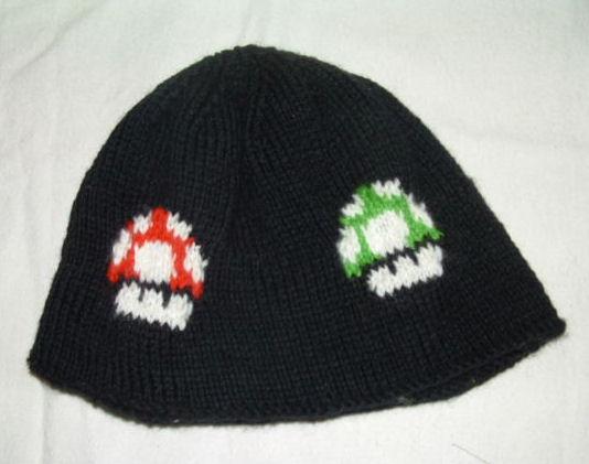 Mario Mushroom Hat by holls