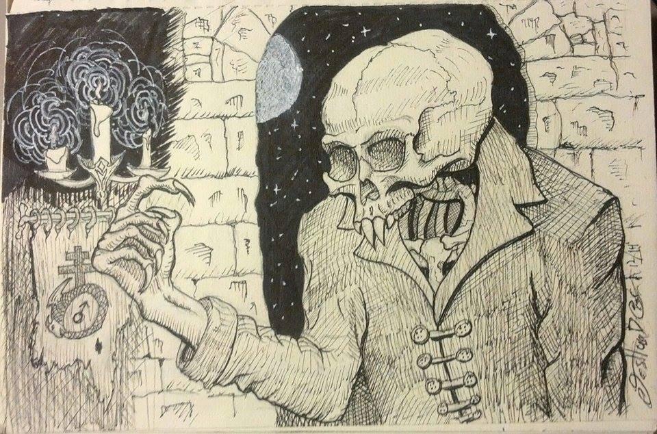 Nosferatu by bottlesofpoison