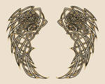 Celtic Wings - tattoo design