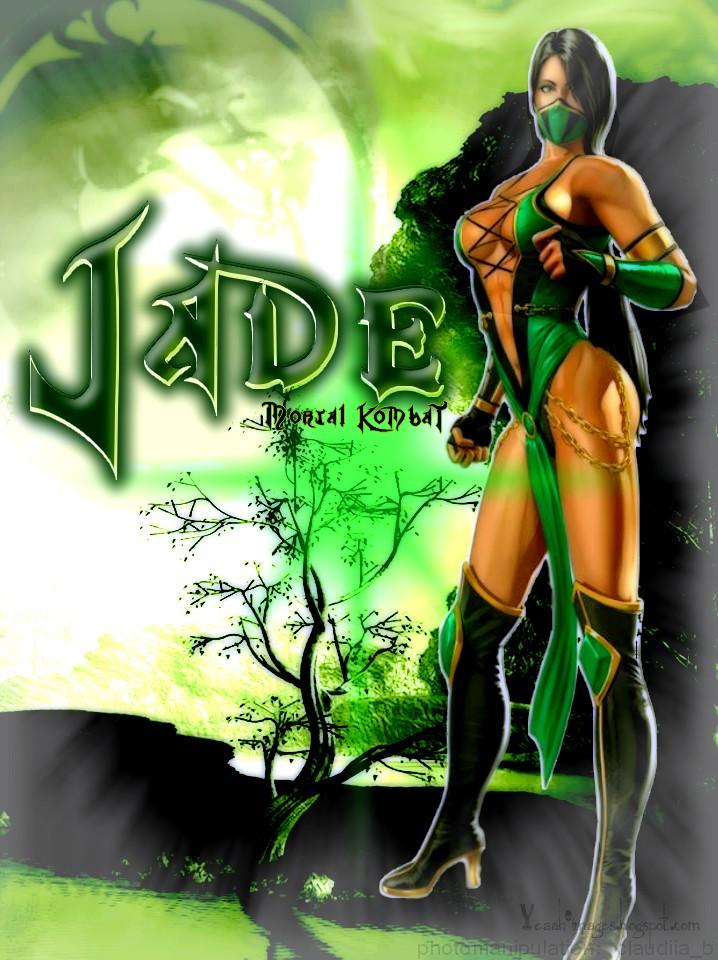 Jade - Mortal Kombat by claudiiab on DeviantArt