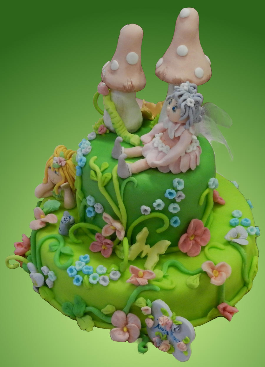 Fairy cake by rosecake on DeviantArt