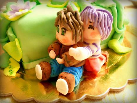 give me a hug cake