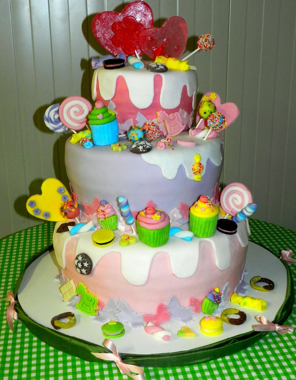 Candy Land Cake Recipe