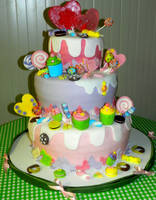 candy dream - cake by rosecake