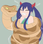 Wendy Marvell squeezed tight | Commisioned