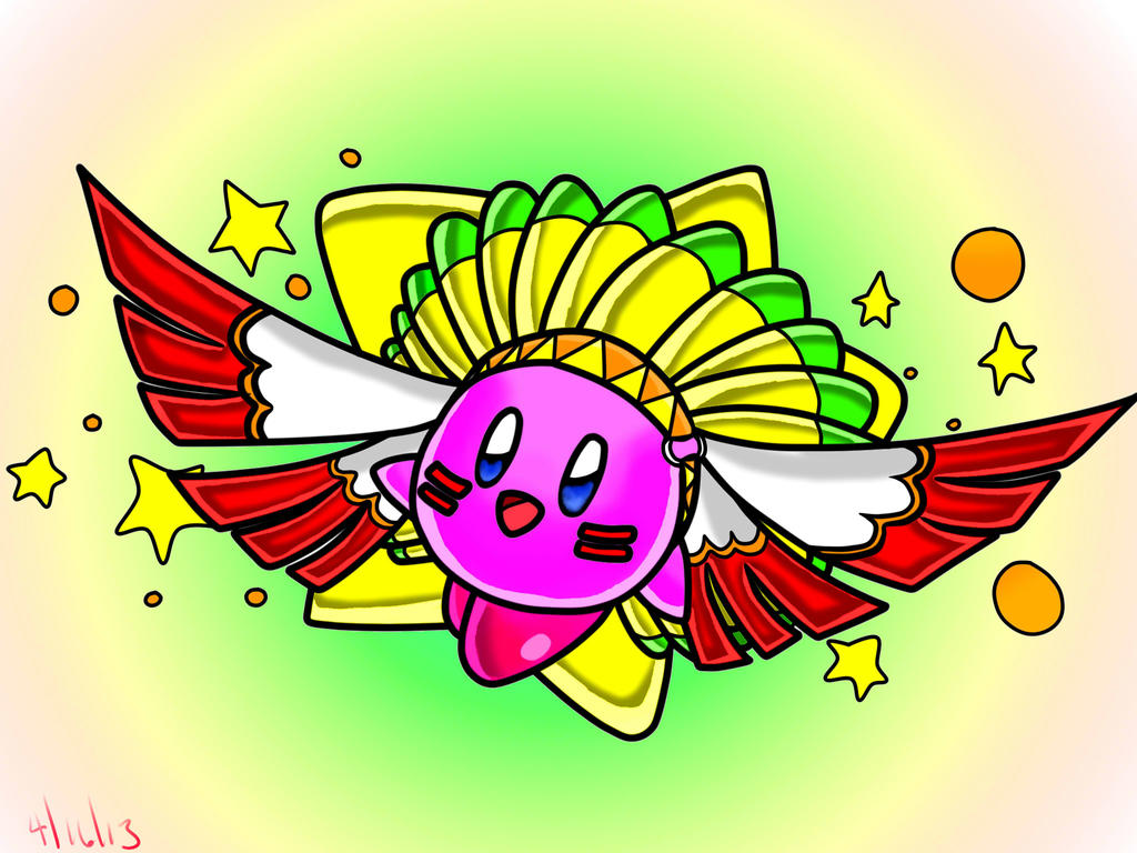 Wing Kirby by NeonCelestia20