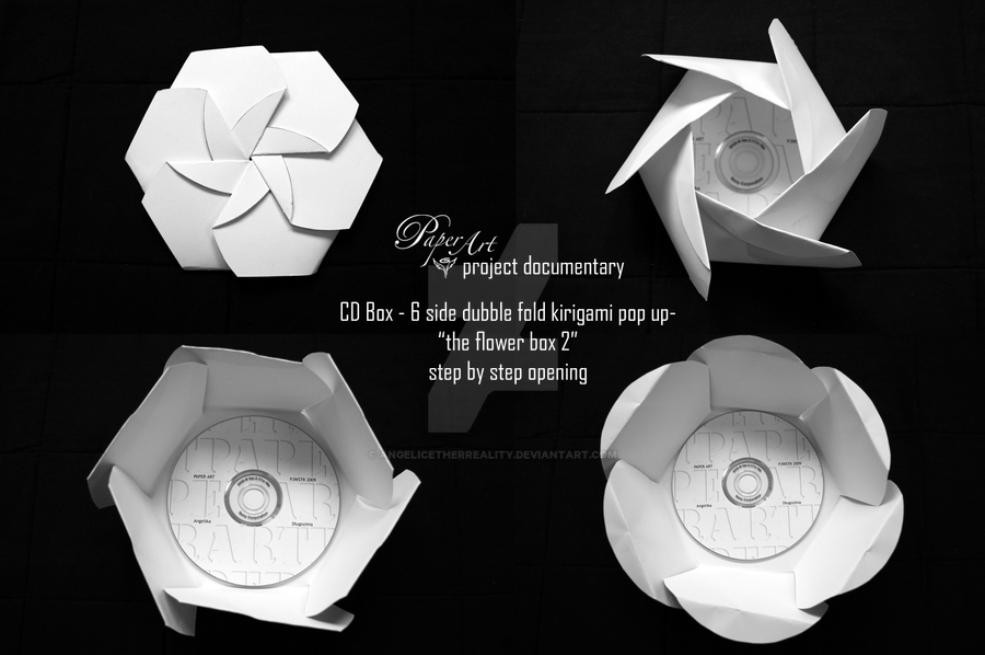 Paper Art CD Box by angelicetherreality