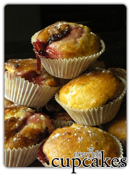 cupcakes - cherry jelly'4