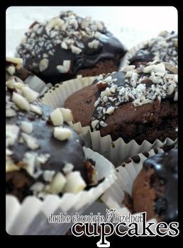 cupcakes - double chocolate 'n hazelnut'2