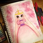 Inktober 2018 - Day 3 Princess Bubblergum