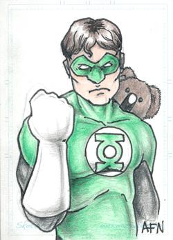 Green Lantern by Nortedesigns
