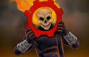 Ghost Rider of War by Nortedesigns