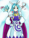 Commission: Mary the Water Adept from Golden Sun