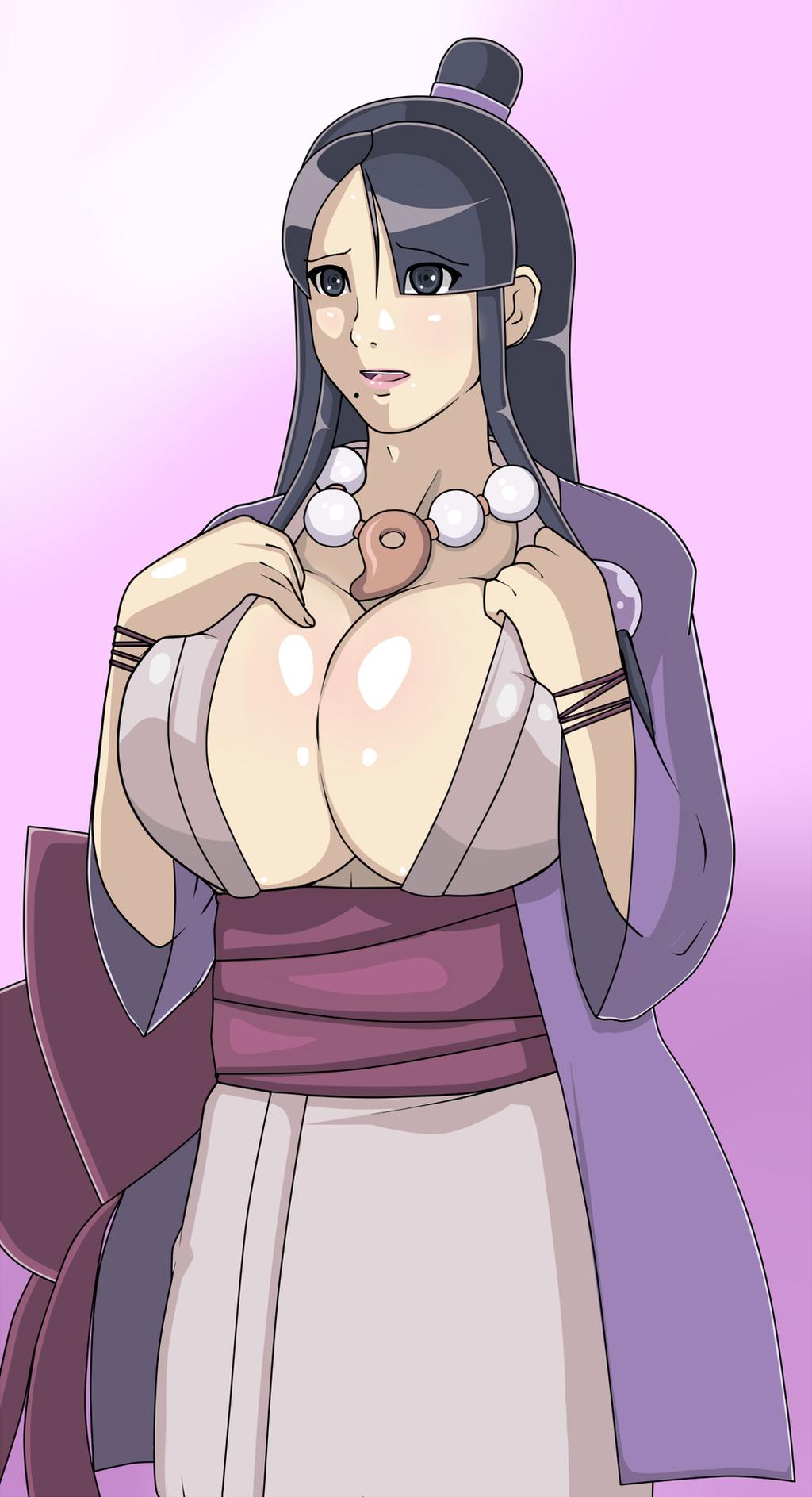 Ace attorney mia hentai